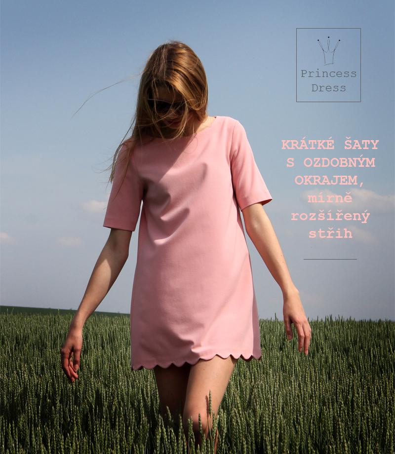 7666795c5d88 produktová růžové šaty Kamila produktová Stela